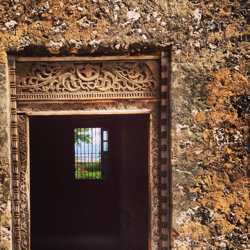 Door, Zanzibar
