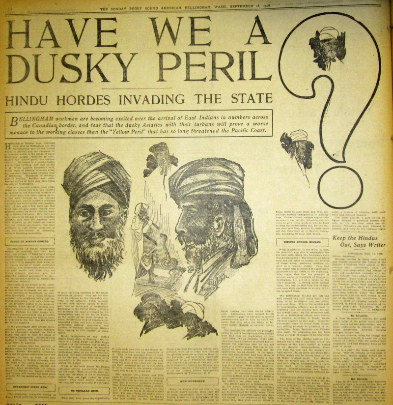 Back when Sikhs were getting lynched in Washington State …