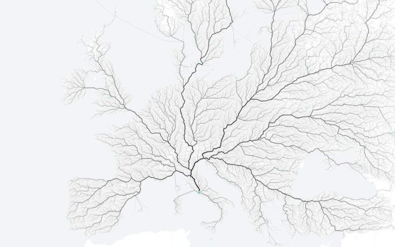 European road network